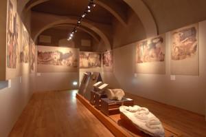Alessandria - Musei civici sale d'arte - Stanze di Artù