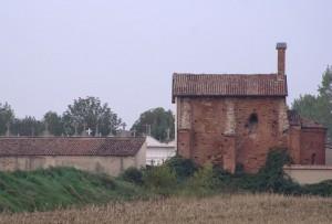 Bassignana (AL) - Resti del castello e pieve di San Giovanni Battista