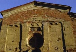 Cassine (AL) - Chiesa San Giacomo (facciata)