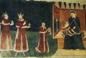 Cassine (AL) - San Francesco (particolare)