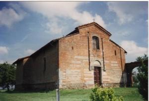 Castellazzo Bormida (AL) - Chiesa della Trinità da Lungi (esterno)