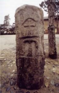 Staffarda, cippo in pietra