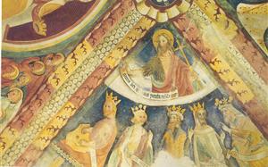 cappella Crocetta - affreschi