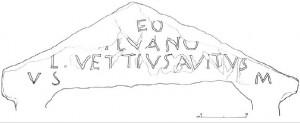 Borgone scritta maometto