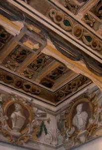 Carmagnola cavassa soffitto