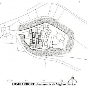 Lombardore planimetria