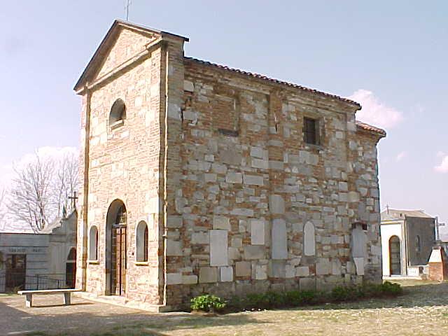 Esterno della chiesa di San Vittore